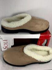 Dearfoams Slippers Sole' Microfiber Suede Slippers Size Large 8-9