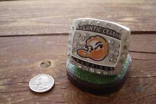 Long ISLAND DUCKS 2012 Atlantic League Champions Mini sga Ring