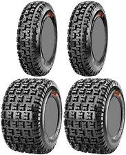 Four 4 Maxxis Razr XM ATV Tires Set 2 Front 20x6-10 & 2 Rear 18x10-8