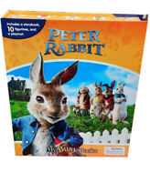 Peter Rabbit Busy Book and 10 Figurines Plus Play Mat  Cake Topper Figures