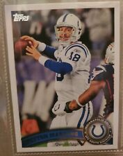 New listing Peyton manning 2011 topps #300 white jersey indianapolis colts