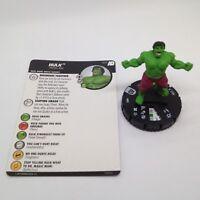 Heroclix Avengers Defenders War set Hulk #003 Common figure w/card!