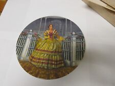 "Knowles Gone With The Wind "" Melanie "" Raymond Kursar Collectors Plate"