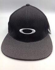 Nylon Mesh 2.0 Black Silver Oakley Cap cappellino Oakley misura size S/M