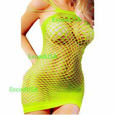 Bodystockings Body Stocking Bodysuit Nightwear Lingerie Fishnet Dress Nightdress