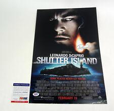 Dennis Lehane Author Signed Autograph Shutter Island Movie Poster PSA/DNA COA #2
