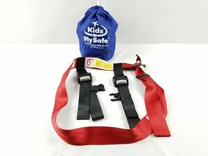 Kids Fly Safe Airplane Safety Harness, N ot New   us ed