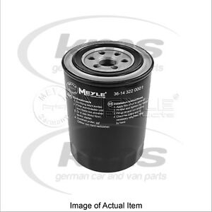 New Genuine MEYLE Engine Oil Filter 36-14 322 0001 Top German Quality