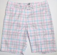 Callaway Plaid Golf Shorts Size 4