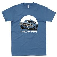 Mopar 71 Barracuda T Shirt Hot Rod Classic Muscle Car Petrol Head Gift Vintage