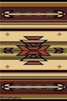 2x8 Runner Rug Southwest Southwestern Design  Medallion Southern Lodge Ivory New