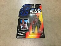 1995 Star Wars red card POTF Chewbacca with Bowcaster action figure!