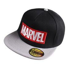 Marvel Men's - Logo - Baseball Cap - Black/Grey