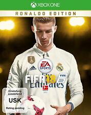XBOX ONE SONY PS3 FIFA 18 OVP deutsch gebraucht normale Edition Microsoft 2018