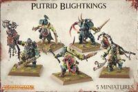 Putrid Blightkings Nurgle Chaos Daemons Warhammer Age of Sigmar NIB Flipside