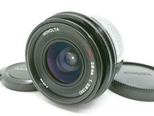 [Near Mint] Minolta AF 28mm F/2.8 Wide Angle MF Lens  From Japan #40