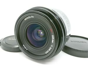 [Near Mint] Minolta AF 28mm F/2.8 Wide Angle Lens  From Japan #40