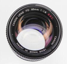 Canon FD 85mm f1.8 S.S.C.  #22138
