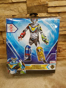 Voltron Deluxe Legendary Defender Child Costume Size S 4-6 New in (open) package