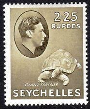 Seychelles1938 olive 2r.25c chalk paper multi-script mint SG148