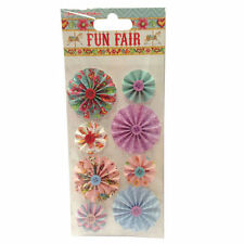 'Fun Fair by Helz Cuppleditch' Accordion Stickers