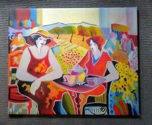 Art Deco Style Print - Wall Art - Ladies at Tea - Vintage