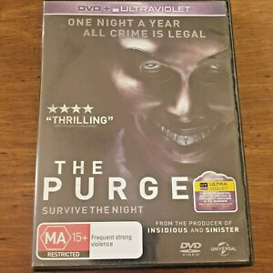 The Purge Survive the Night DVD R4 – FREE POST