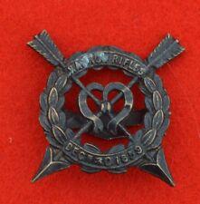 British Army. Harrow Rifles OTC Genuine WW1 Cap Badge
