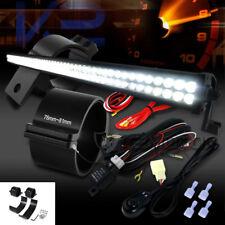 "100-LED Combo Beam Roof 52"" Work Fog Light+Wiring Harness+3"" Mounting Brackets"