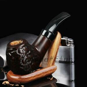 Wooden Men High-ended Pipe Cigar Pipes Gift