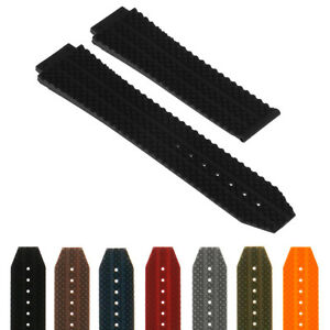 StrapsCo Silicone Rubber Watch Band Strap for Hublot Big Bang