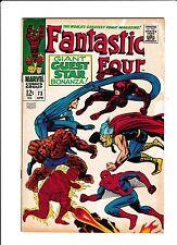 "Fantastic Four No.73  : 1968 :   : ""Giant Guest Star Bonanza!"" :"