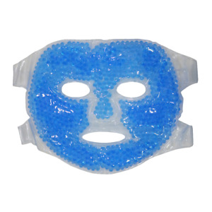 Hot and Cold Therapy Gel Bead Full Facial Mask Care | Ice Face Mask
