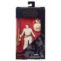 "Star Wars Black Series 6""  Figure Force Awakens #02 Rey Jakku & BB-8 100% Hasbro"