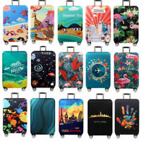 """18""""-32"""" Protective Luggage Suitcase Dust Cover Protector Elastic Anti Scratch H1"""