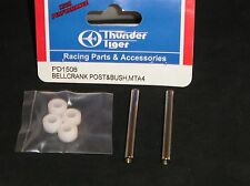 Thunder Tiger R/C Model Car Part PD1508 BellCrank Post & Bush MTA4 Monster Truck