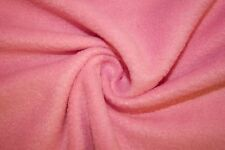 "Pink Polar Fleece Fabric Solid Colors Anti-Pill 58""-60"" Soft Blanket BTY"