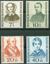 Bund Nr. 222 - 225 sauber postfrisch Satz Helfer der Menschheit BRD 1955