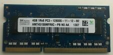 SK Hynix 4GB 204Pin SO-DIMM DDR3 12800S Ram For Laptop