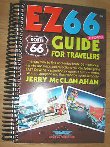 EZ 66 GUIDE for ROUTE 66 TRAVELERS - #4 -NEW!!!!