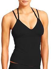 NWOT Athleta Scoop Tankini Top,  Black SIZE S                  #439160  E221
