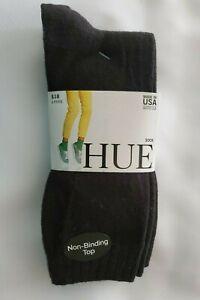 Hue Women's 3 Pack New Loafer Sock Black