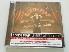 EDITH PIAF - HYMNE A LA MOME LE BEST OF OFFICIEL - 2 CD - 44 SONGS - NEW NUEVO