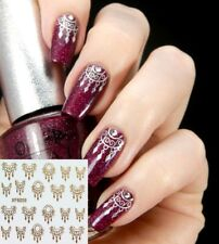 ❤️NOUVEAU STICKERS 3D DREAM CATCHER OR BIJOUX ONGLES NAIL ART MANUCURE