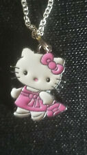 Hello Kitty Pink dress & Purse Shopping Bag  shoe bag sale charm necklace
