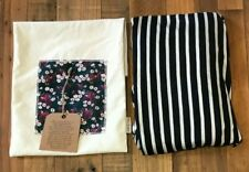 NEW! SOLD OUT! FREERIDER NAVY & WHITE STRIPE BABY WRAP / SLING / CARRIER & POUCH