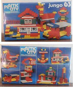 Costruzioni Plastic City Italocremona serie Jungo numero 63