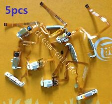 5pcs Audio Headphone Jack & Hold Switch for iPod Video 5.5th Gen 60GB 80GB