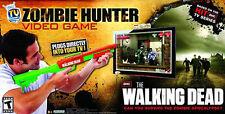 ZOMBIE HUNTER VIDEO GAME ~ AMC WALKING DEAD w/ PUMP ACTION SHOTGUN ~ BRAND NEW