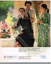 Publicité Advertising 1978 Pret a porter Femme les robes Jean Biolay